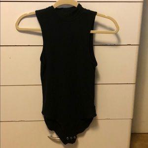 AE mock neck bodysuit